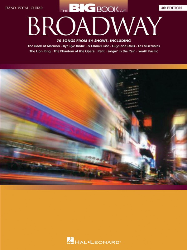 BIG BOOK OF BROADWAY PVG 4TH ED