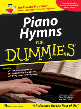 PIANO HYMNS FOR DUMMIES PVG
