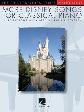 MORE DISNEY SONGS FOR CLASSICAL PIANO KEVEREN PIANO SOLO