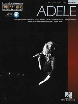 ADELE PIANO PLAY ALONG  BK/CD V118