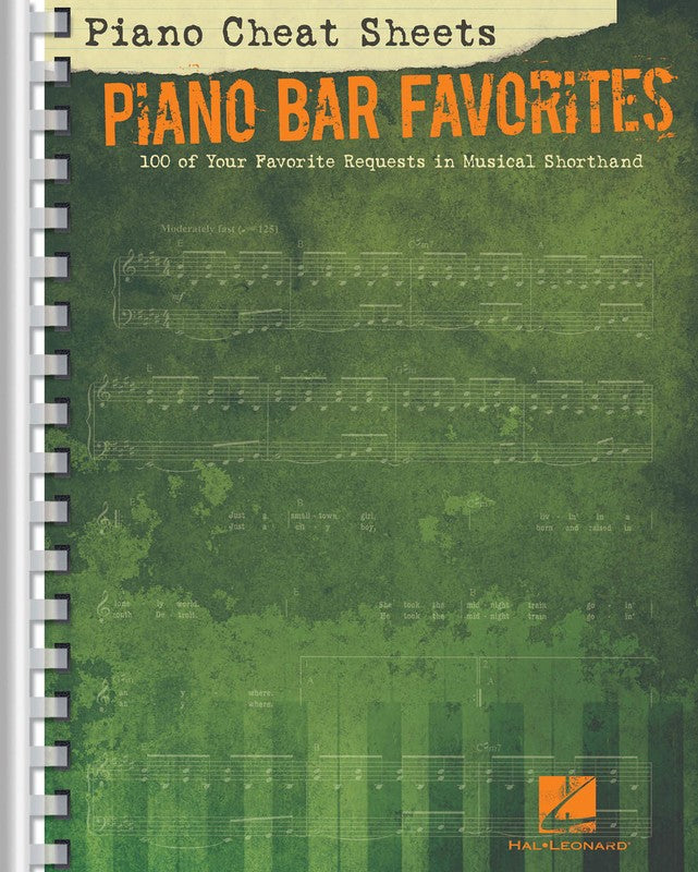 PIANO CHEAT SHEETS PIANO BAR FAVORITES