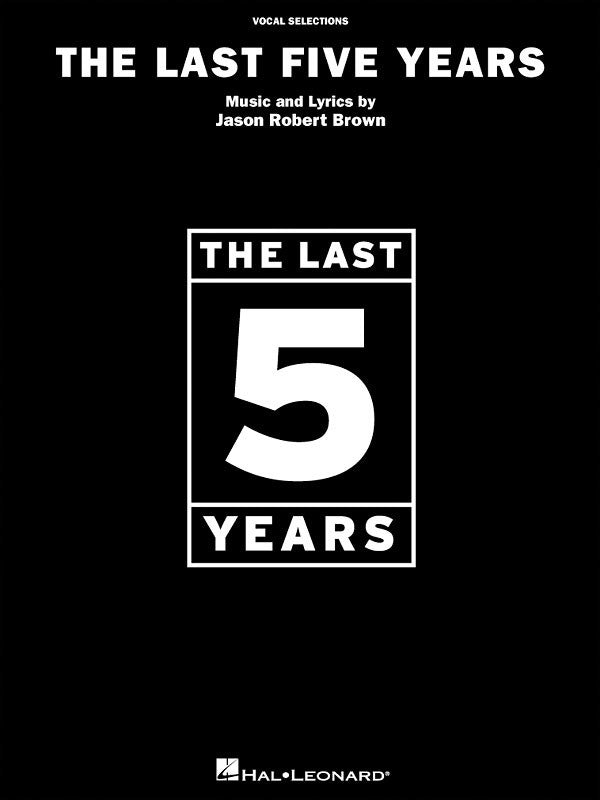 LAST FIVE YEARS VOCAL SELECTIONS PVG