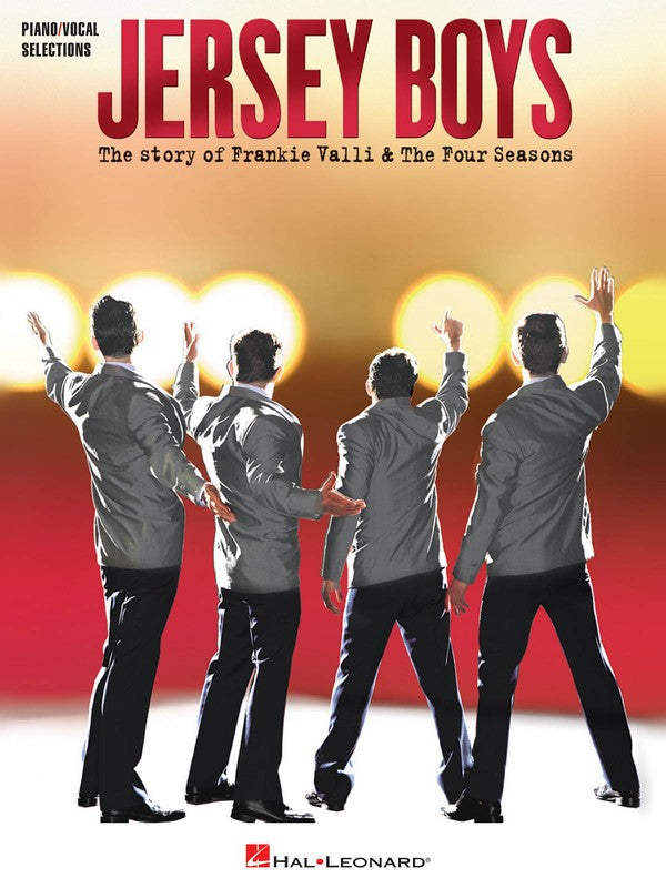 JERSEY BOYS VOCAL SELECTIONS PVG