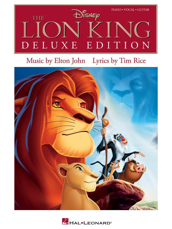 LION KING 3D SELECTIONS DELUXE EDITION PVG