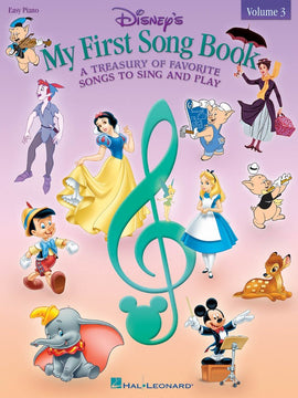 DISNEYS MY FIRST SONGBOOK VOL 3 EASY PIANO