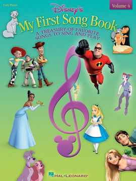DISNEYS MY FIRST SONGBOOK VOL 4 EASY PIANO