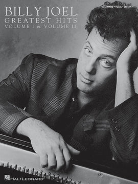 GREATEST HITS BILLY JOEL BK 1 AND 2