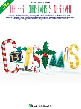 BEST CHRISTMAS SONGS EVER 6TH EDITION PVG