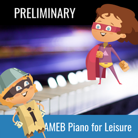 Practice Buddy AMEB Piano for Leisure Preliminary