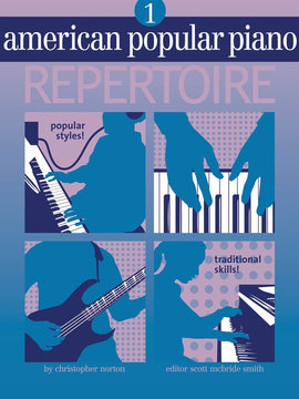 AMERICAN POPULAR PIANO REPERTOIRE BK/CD LVL 1