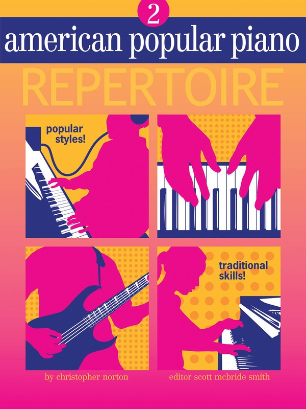 AMERICAN POPULAR PIANO REPERTOIRE BK/CD LVL 2