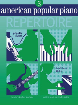 AMERICAN POPULAR PIANO REPERTOIRE BK/CD LVL 3