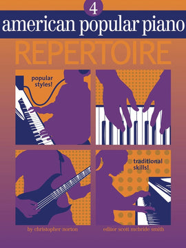 AMERICAN POPULAR PIANO REPERTOIRE BK/CD LVL 4