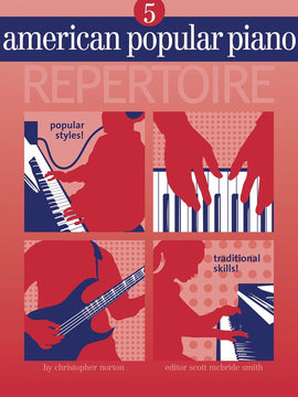 AMERICAN POPULAR PIANO REPERTOIRE BK/CD LVL 5