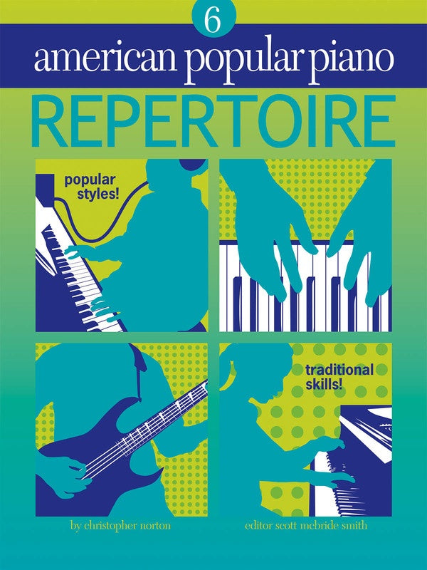 AMERICAN POPULAR PIANO REPERTOIRE BK/CD LVL 6