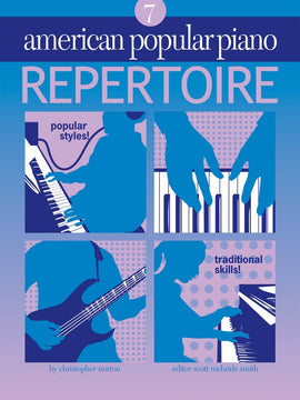 AMERICAN POPULAR PIANO REPERTOIRE BK/CD LVL 7