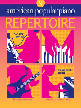 AMERICAN POPULAR PIANO REPERTOIRE BK/CD LVL 8