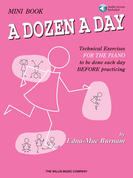 A DOZEN A DAY MINI BOOK - BOOK/CD PACK
