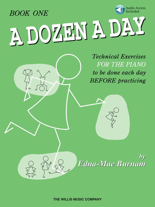 A DOZEN A DAY BOOK 1 - BOOK/CD PACK