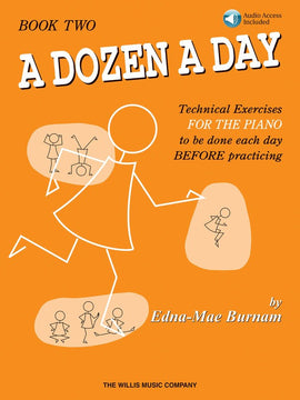 A DOZEN A DAY BOOK 2 - BOOK/CD PACK