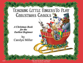 TEACHING LITTLE FINGERS CHRISTMAS CAROLS BK/CD