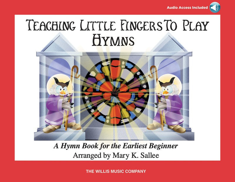 TEACHING LITTLE FINGERS TO PLAY HYMNS BK/CD