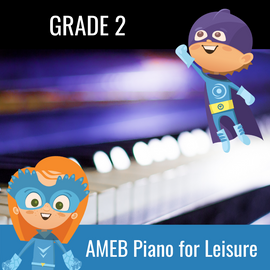 Practice Buddy AMEB Piano for Leisure Grade 2