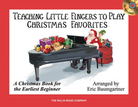 TEACHING LITTLE FINGERS CHRISTMAS FAVORITES BK/CD