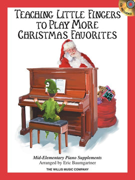 TEACHING LITTLE FINGERS MORE CHRISTMAS FAVORITES BK/CD