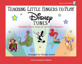 TEACHING LITTLE FINGERS TO PLAY DISNEY TUNES BK/CD