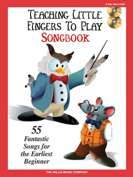 TEACHING LITTLE FINGERS TO PLAY SONGBOOK BK/CD