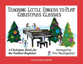 TEACHING LITTLE FINGERS CHRISTMAS CLASSICS BK/CD