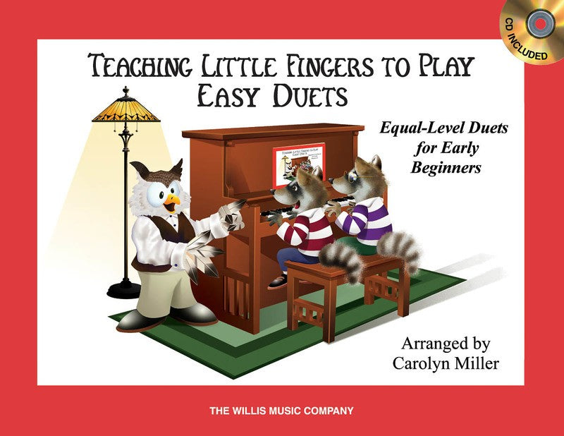TEACHING LITTLE FINGERS TO PLAY EASY DUETS BK/CD