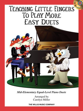 TEACHING LITTLE FINGERS TO PLAY MORE EASY DUETS BK/CD