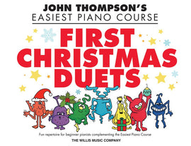 EASIEST PIANO COURSE FIRST CHRISTMAS DUETS