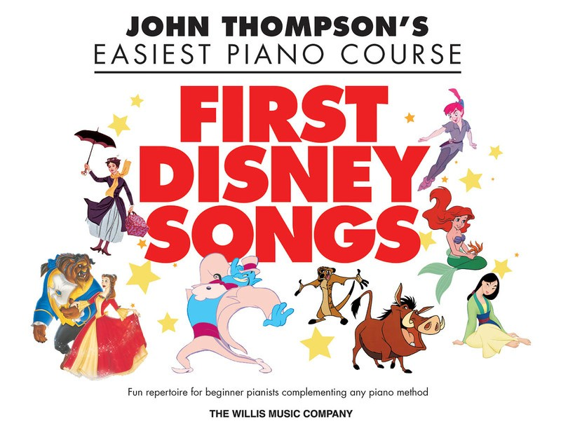 EASIEST PIANO COURSE FIRST DISNEY SONGS