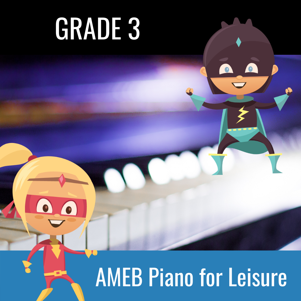 Teacher Pass Practice Buddy AMEB Piano for Leisure