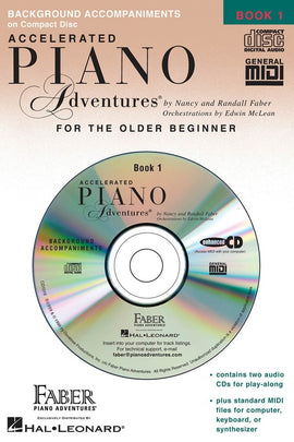 ACCELERATED PIANO ADVENTURES BK 1 LESSON CD