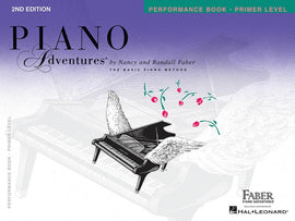PIANO ADVENTURES PERFORMANCE PRIMER 2ND EDITION