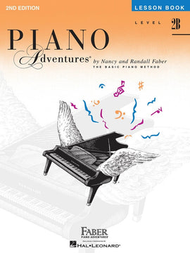 PIANO ADVENTURES LESSON BK 2B 2ND EDITION