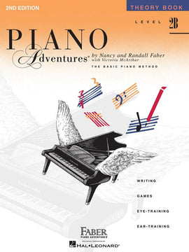 PIANO ADVENTURES THEORY BK 2B 2ND EDITION