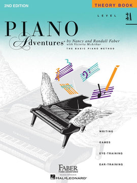 PIANO ADVENTURES THEORY BK 3A