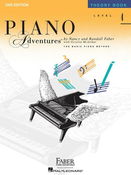 PIANO ADVENTURES THEORY BK 4 2ND EDITION