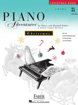 PIANO ADVENTURES CHRISTMAS BK 3A