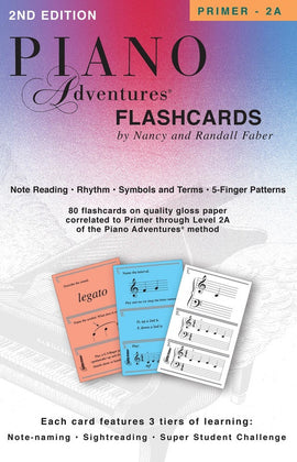 PIANO ADVENTURES FLASHCARDS IN A BOX