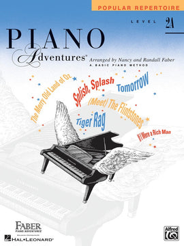 PIANO ADVENTURES POPULAR REPERTOIRE BK 2A