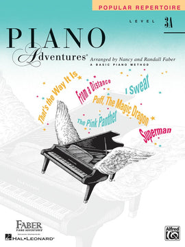 PIANO ADVENTURES POPULAR REPERTOIRE BK 3A