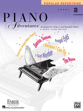 PIANO ADVENTURES POPULAR REPERTOIRE BK 3B
