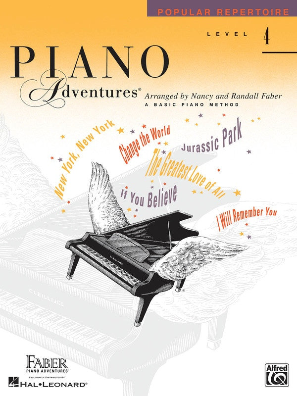 PIANO ADVENTURES POPULAR REPERTOIRE BK 4