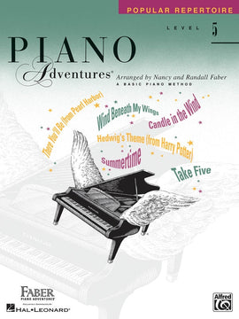 PIANO ADVENTURES POPULAR REPERTOIRE BK 5